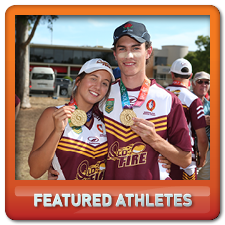 Featured athletes